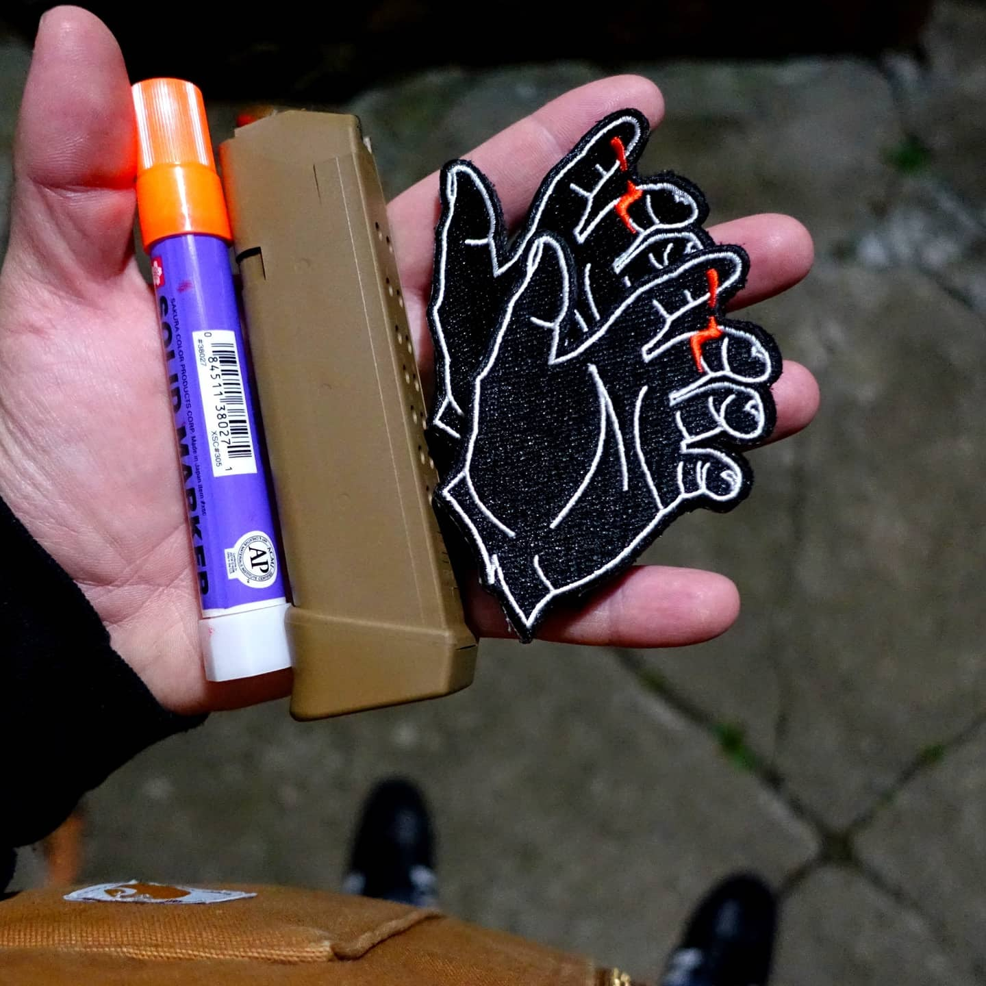 Image of Black Hand Patch