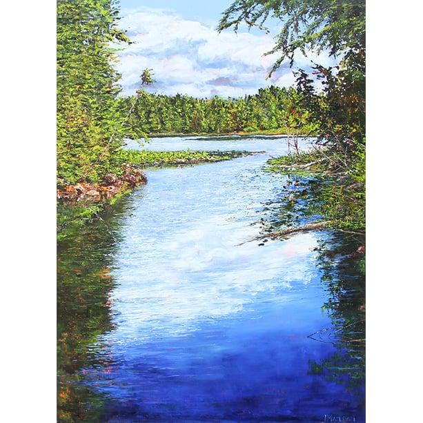 Image of - Peck Lake View -