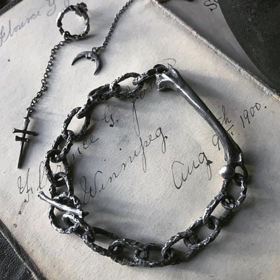 Image of Bones Shackle Bracelet