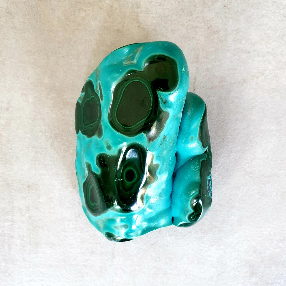 Image of MALACHITE & CHRYSOCOLLA Freeform - Quinn