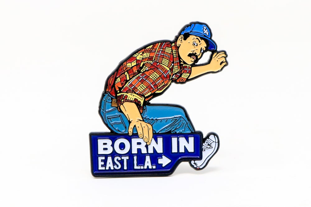 Image of Cheech and Chong - Born in East L.A. Enamel Pin
