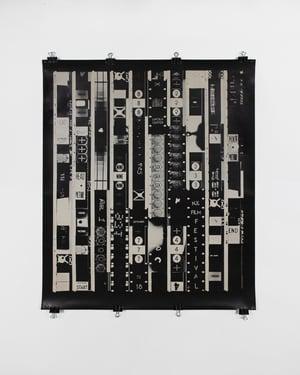 "Original Offset lithograph poster ""Ten Second Film"" Bruce Conner - New York Film Festival ca. 1965"