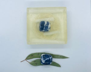 Sodalite Soap with Loofah