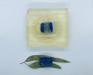Lapis Lazuli Soap with Loofah