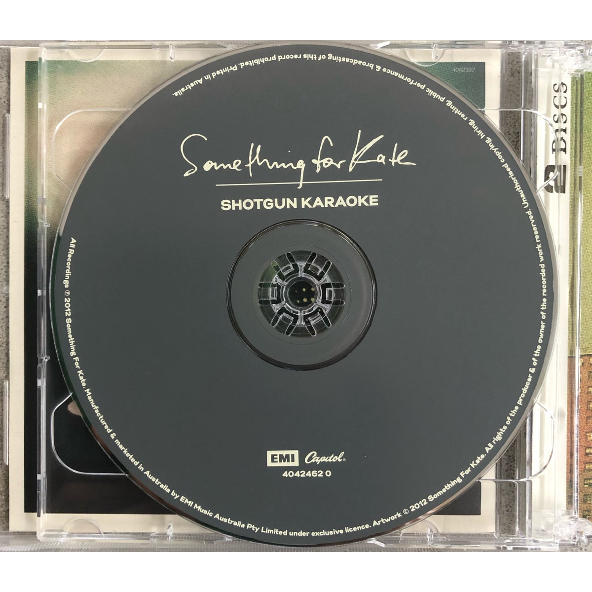 Image of Something for Kate  'Leave Your Soul to Science' 2 x CD- Signed/Unsigned Limited Edition