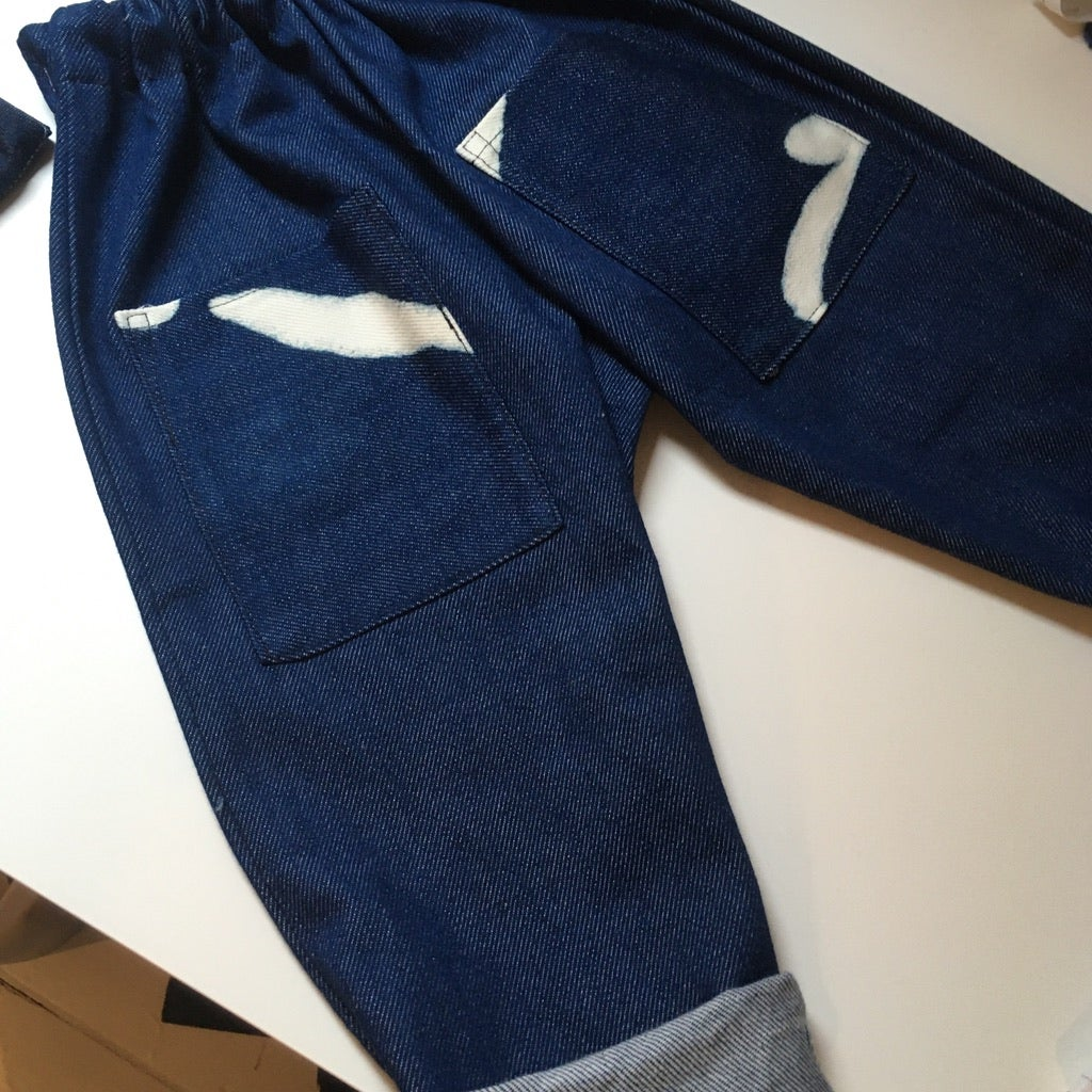 Image of SPLASH DENIM JEANS
