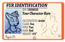 Image 1 of Fur ID - Custom Furry ID Card
