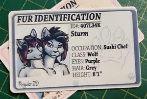 Fur ID - Custom Furry ID Card