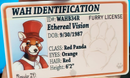 Image 3 of Fur ID - Custom Furry ID Card