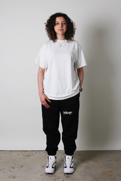 Image of Signature Sweatpants in Black