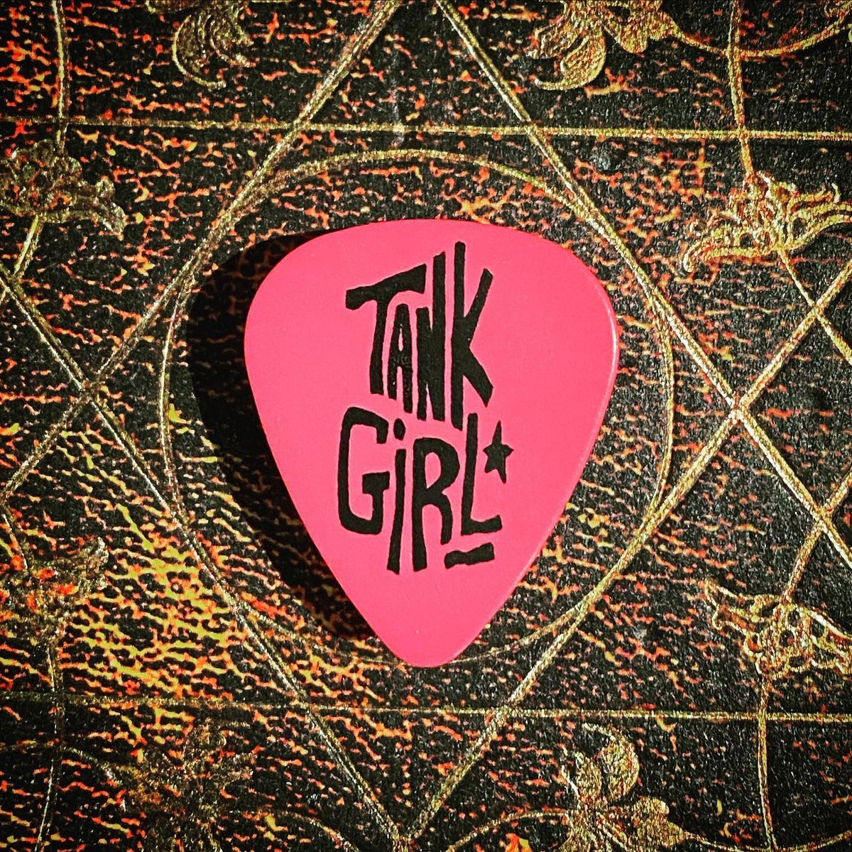 Image of TANK GIRL POSTER MAGAZINE #15 (with Plectrum, Barney Party Badge and replica Polaroid!)