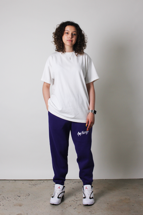 Image of Signature Sweatpants in Deep Purple