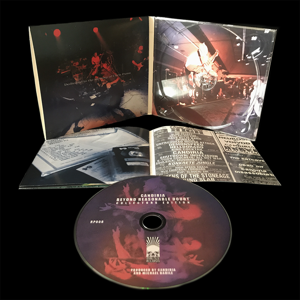 Image of Candiria - Beyond Reasonable Doubt - Collectors Edition CD + Digital Bundle