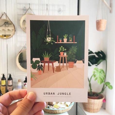 Image of ILLUSTRATION LIMITEE - Urban Jungle