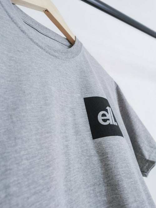 Image of NEW Grey / black square E11 logo