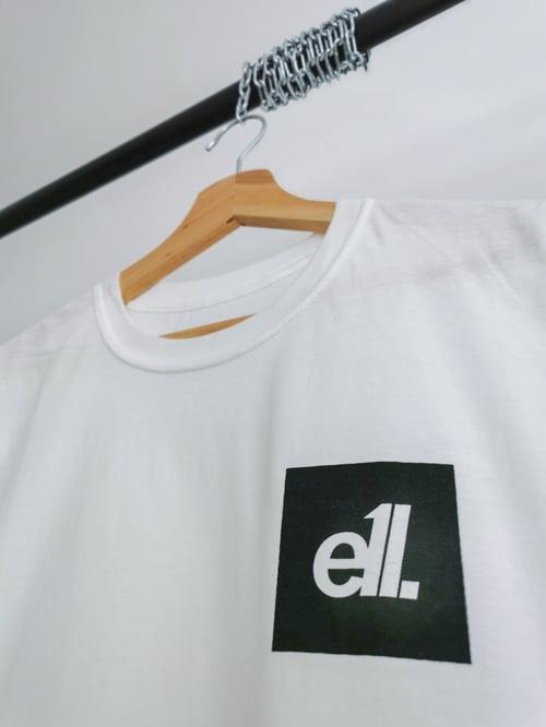 Image of White / black square E11 logo
