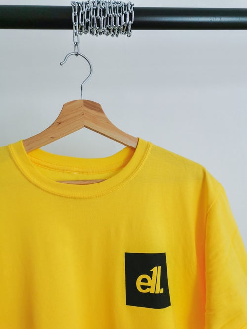 Image of NEW Yellow / black square E11 logo