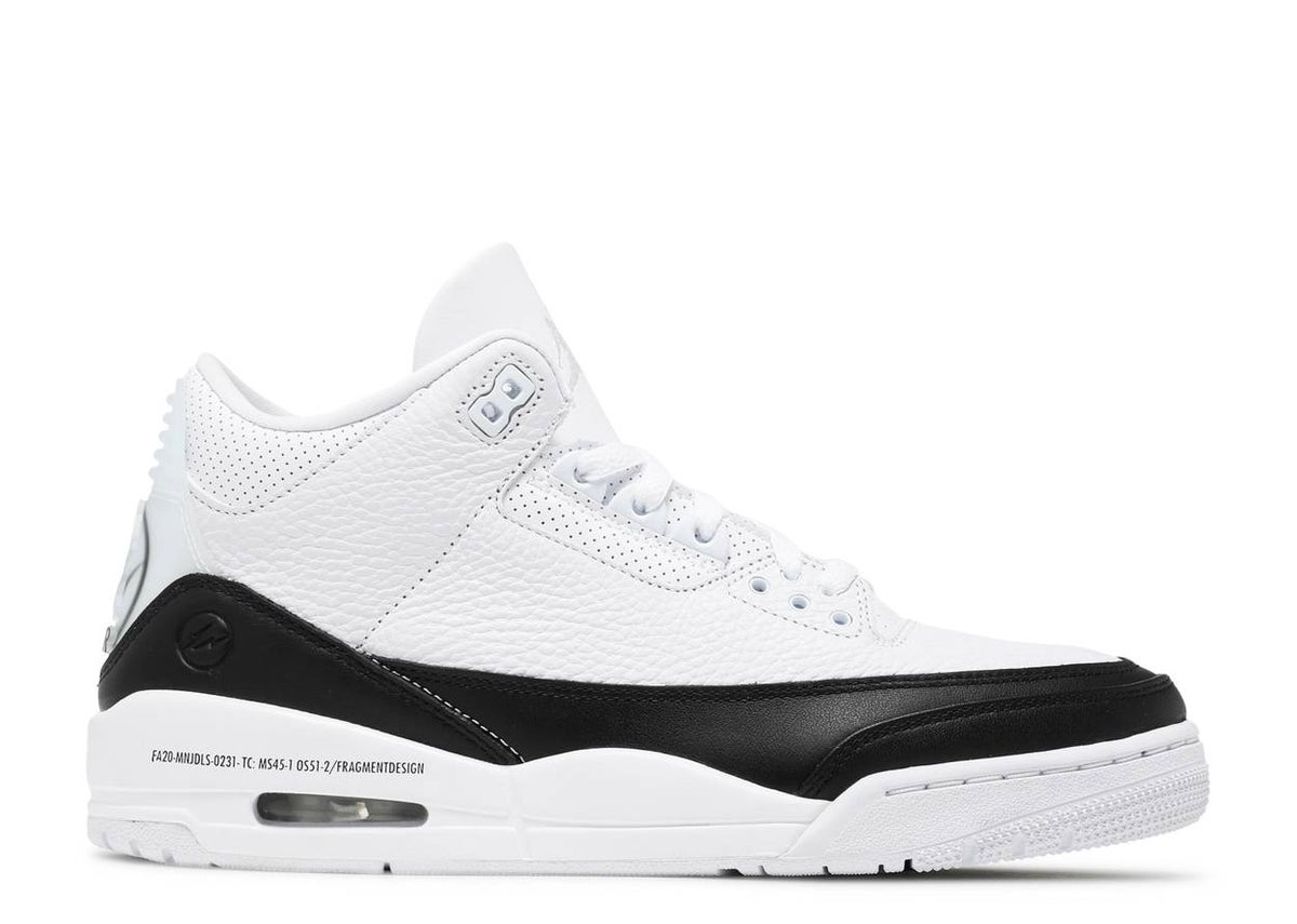 Image of FRAGMENT DESIGN X AIR JORDAN 3 RETRO SP