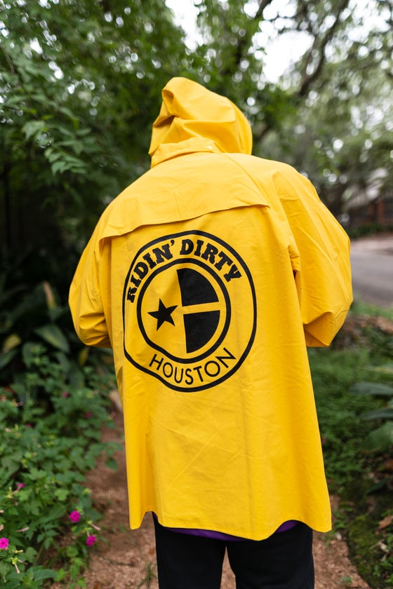 Image of OG LOGO YELLOW RAIN JACKET