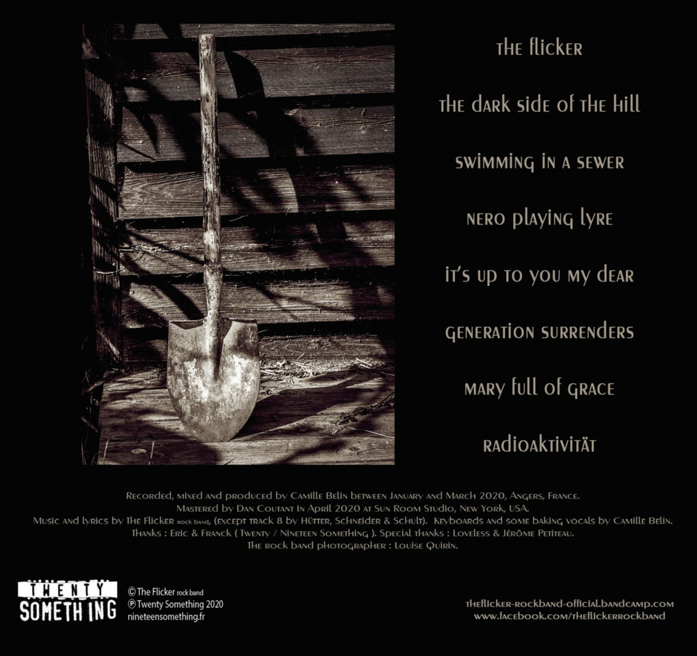 """THE FLICKER """"Your Last Day On Earth"""" CD"""