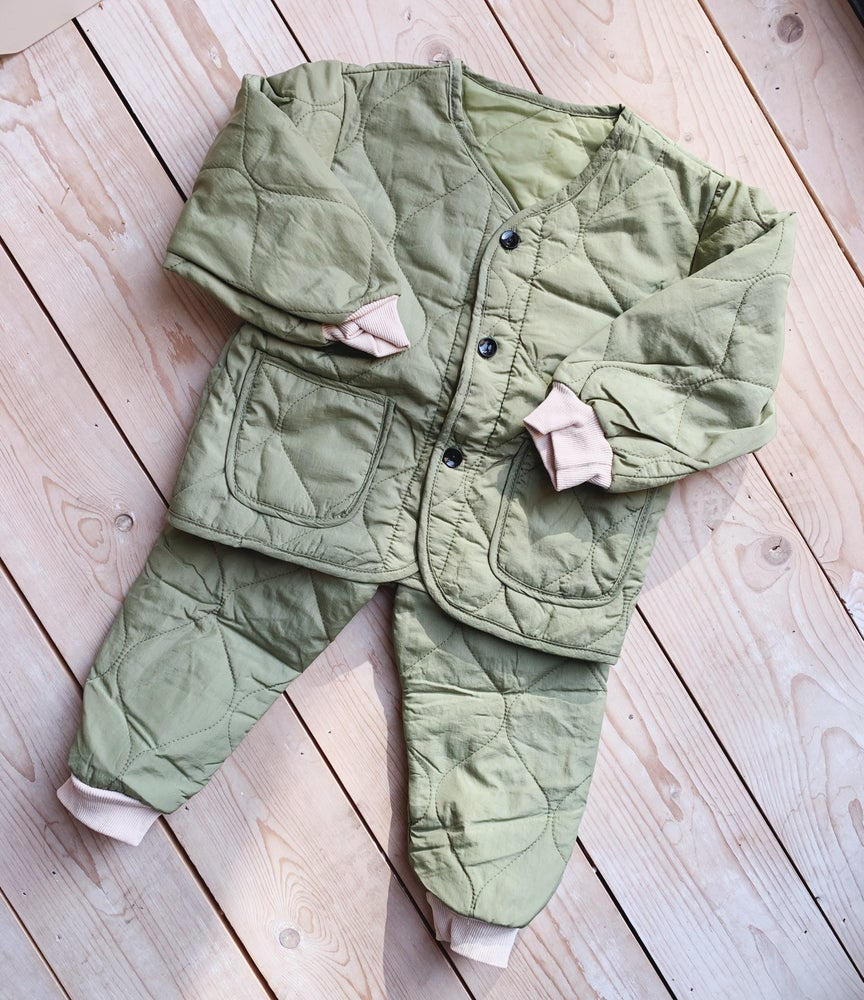 Image of THE MO TRACKSUIT - KHAKI