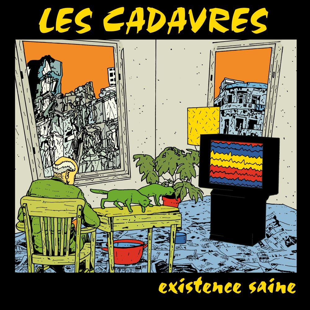 "LES CADAVRES ""Existence Saine"" CD (réédition 2020)"