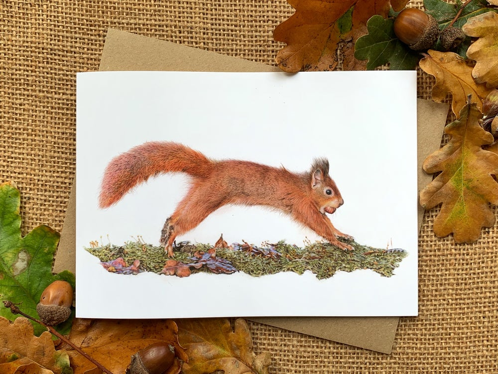 Image of 'Caching In' Greetings Card
