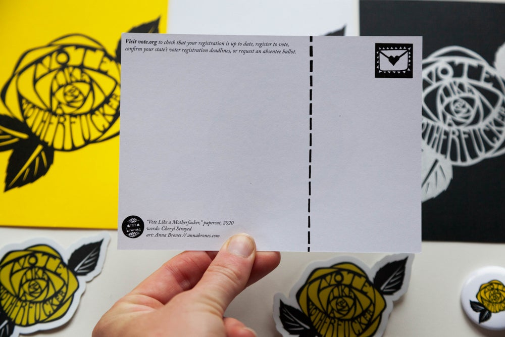 "Image of ""Vote Like a Motherfucker"" Voter Pack"