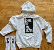 "Image of Unisex Shut Up And Train ""Snow Patrol""  Hoodie"