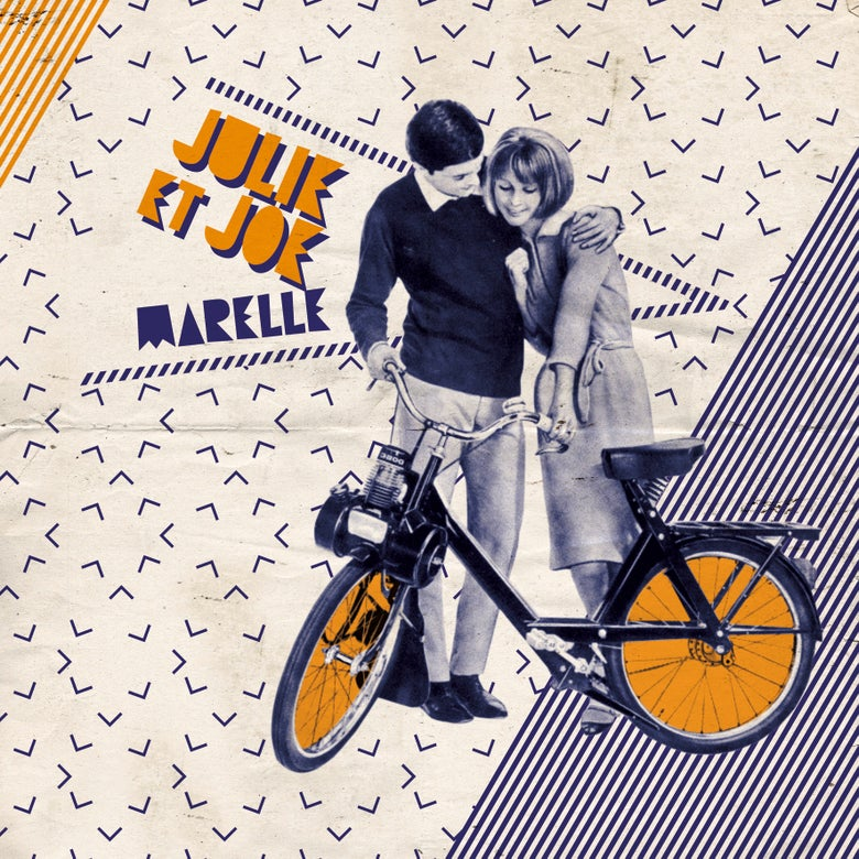 "Image of JULIE ET JOE - Marelle (10"" Amber Vinyl Mini-LP with MP3s)"