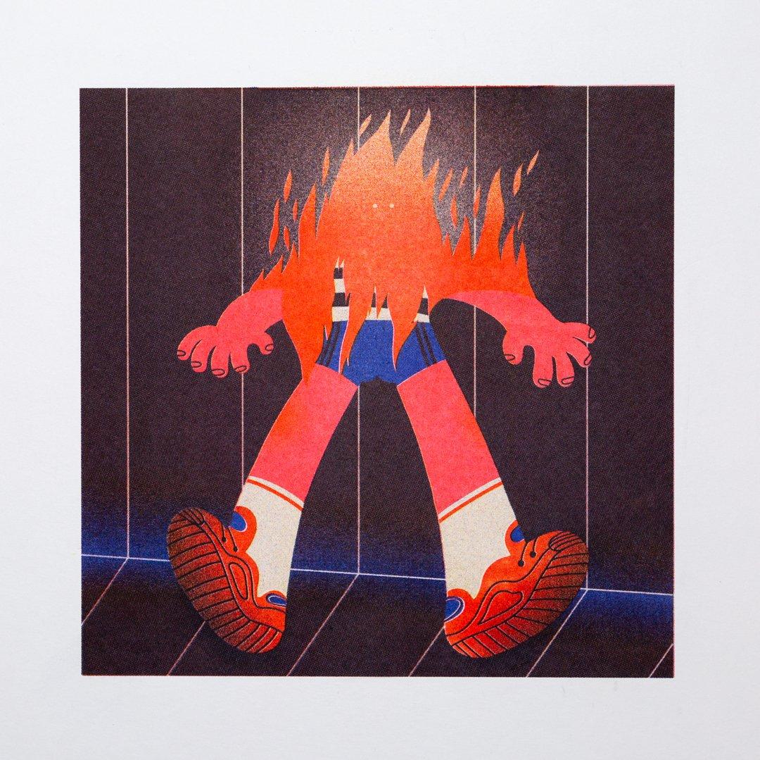 """Image of """"LA FUEGO"""" Genie Espinosa"""