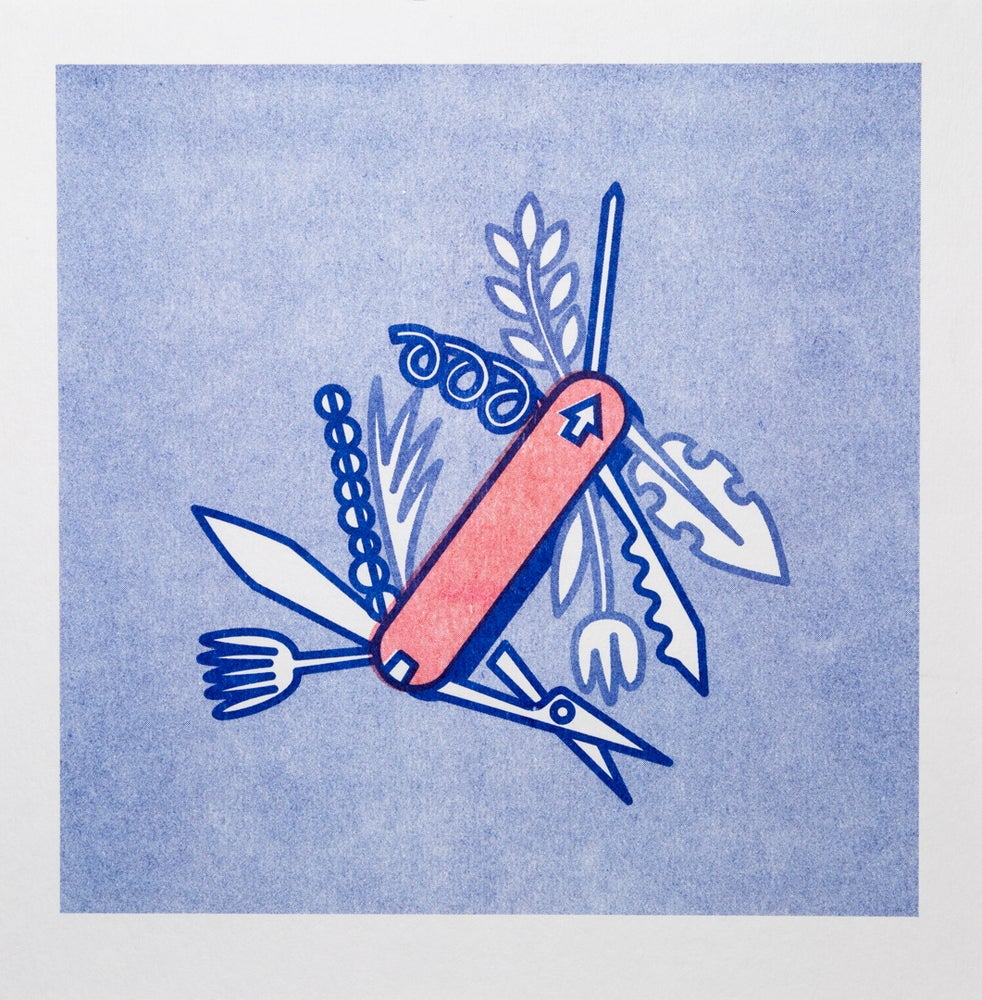 """Image of """"SWISS ARMY KNIFE"""" Leah Schmidt"""