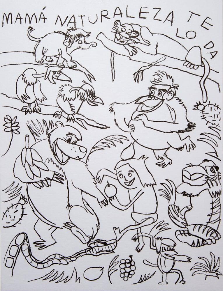 """Image of """"El Libro de la Selva"""" Ange Cano"""