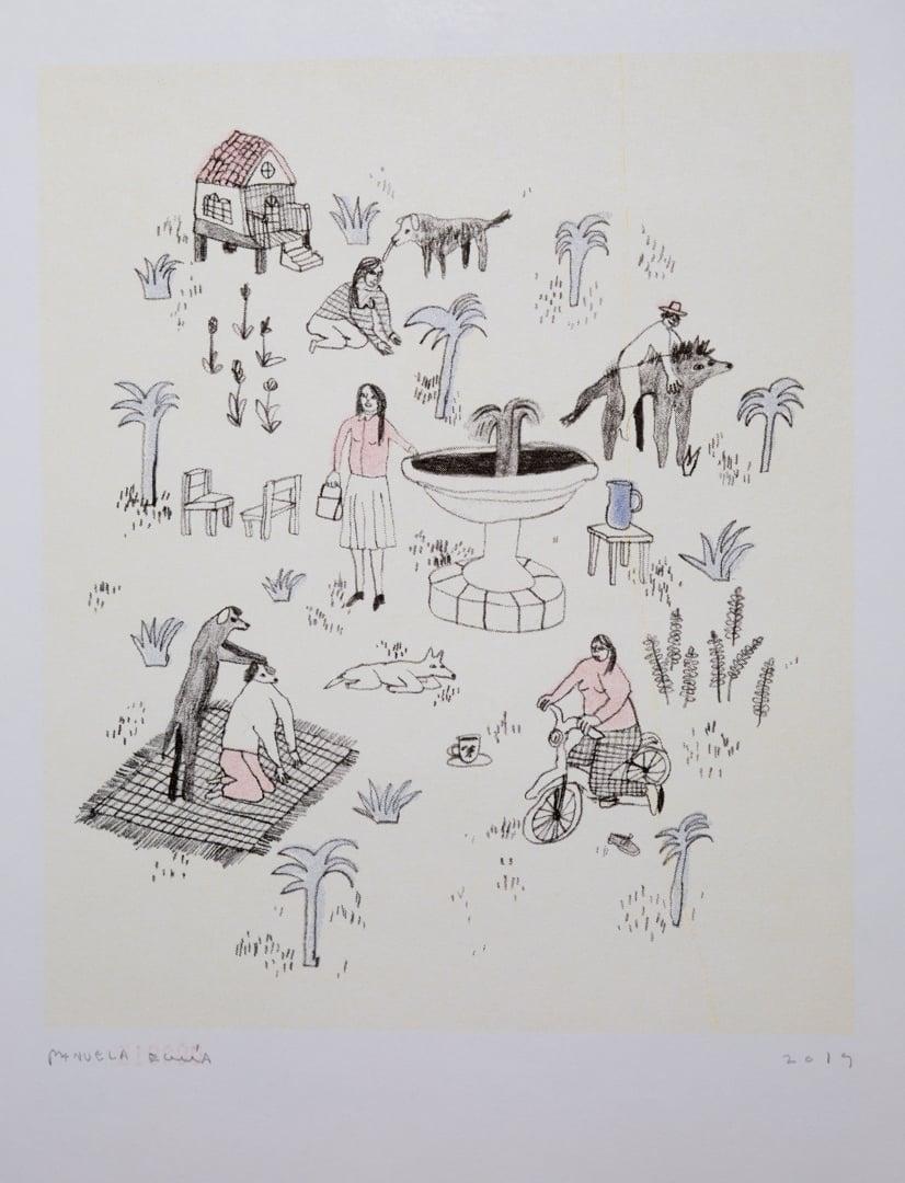 """Image of """"Porción de lo que sí"""" Manuela Eguía"""