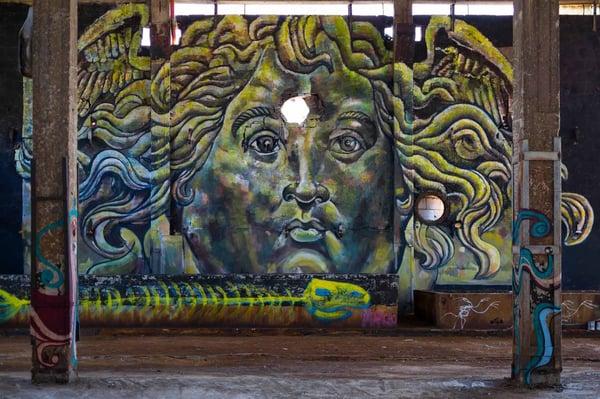 """Image of """"Medusa Rusco"""", digital print. 1/100"""
