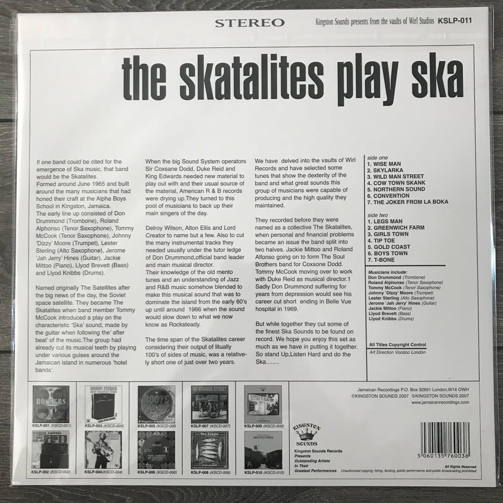Image of Skatalites - Play Ska Vinyl LP