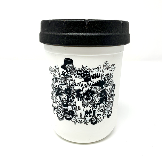 Image of Caspa x Re Stash Jar  [White]