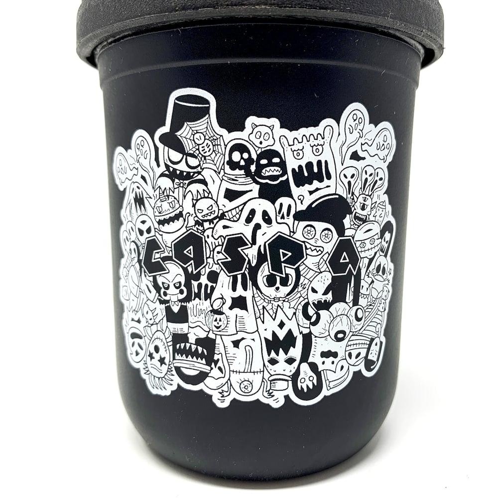 Image of Caspa x Re Stash Jar [Black]