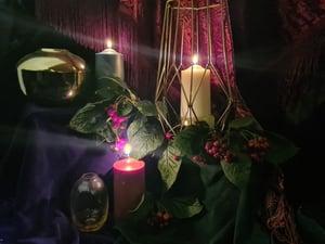 Image of Christmas Candle Trio