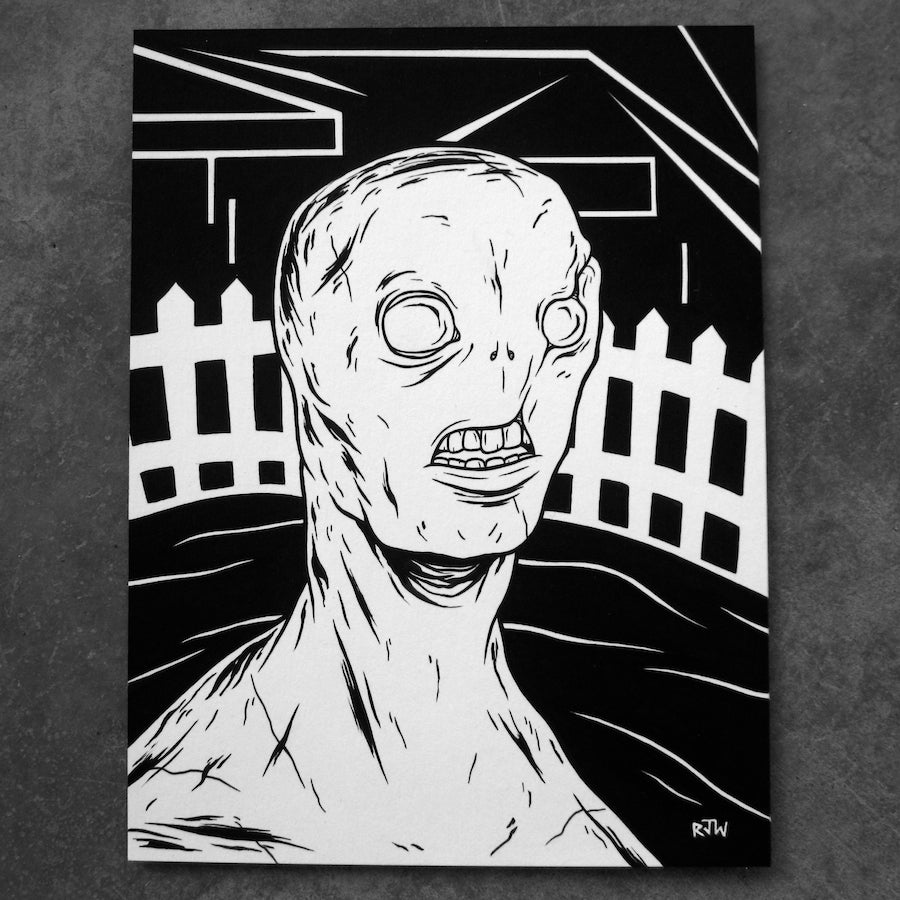 Image of Distressed - original art