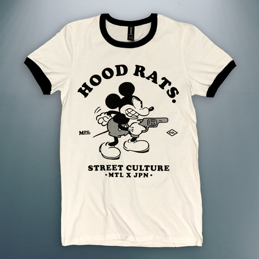 Image of 'Street Culture' Unisex Ringer Tee