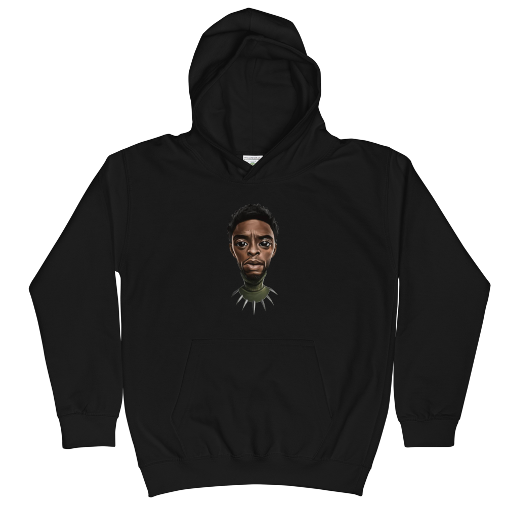 Image of Kids Black Panther Hoodie