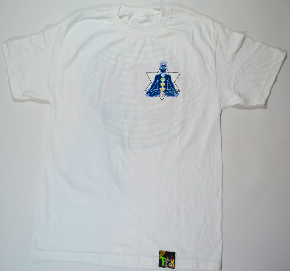 Image of MEDITATION TEE WHITE