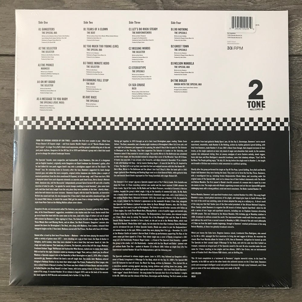 Image of The Best Of 2 Tone - Various Vinyl 2xLP