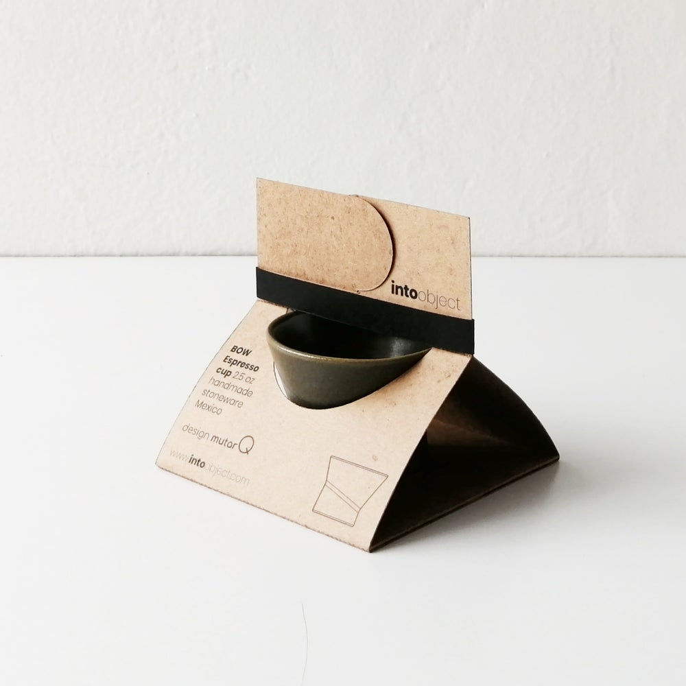 Espresso cup. Earthen gray. BOW Collection