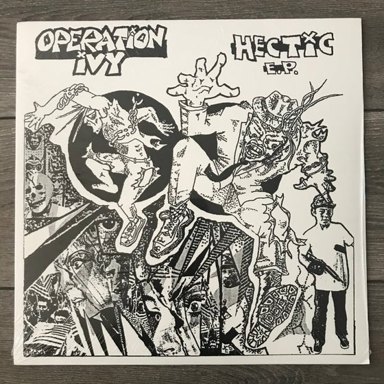 Image of Operation Ivy - Hectic EP Vinyl 12""