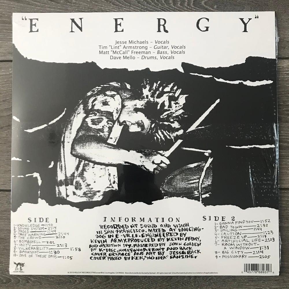 Image of Operation Ivy - Energy Vinyl LP