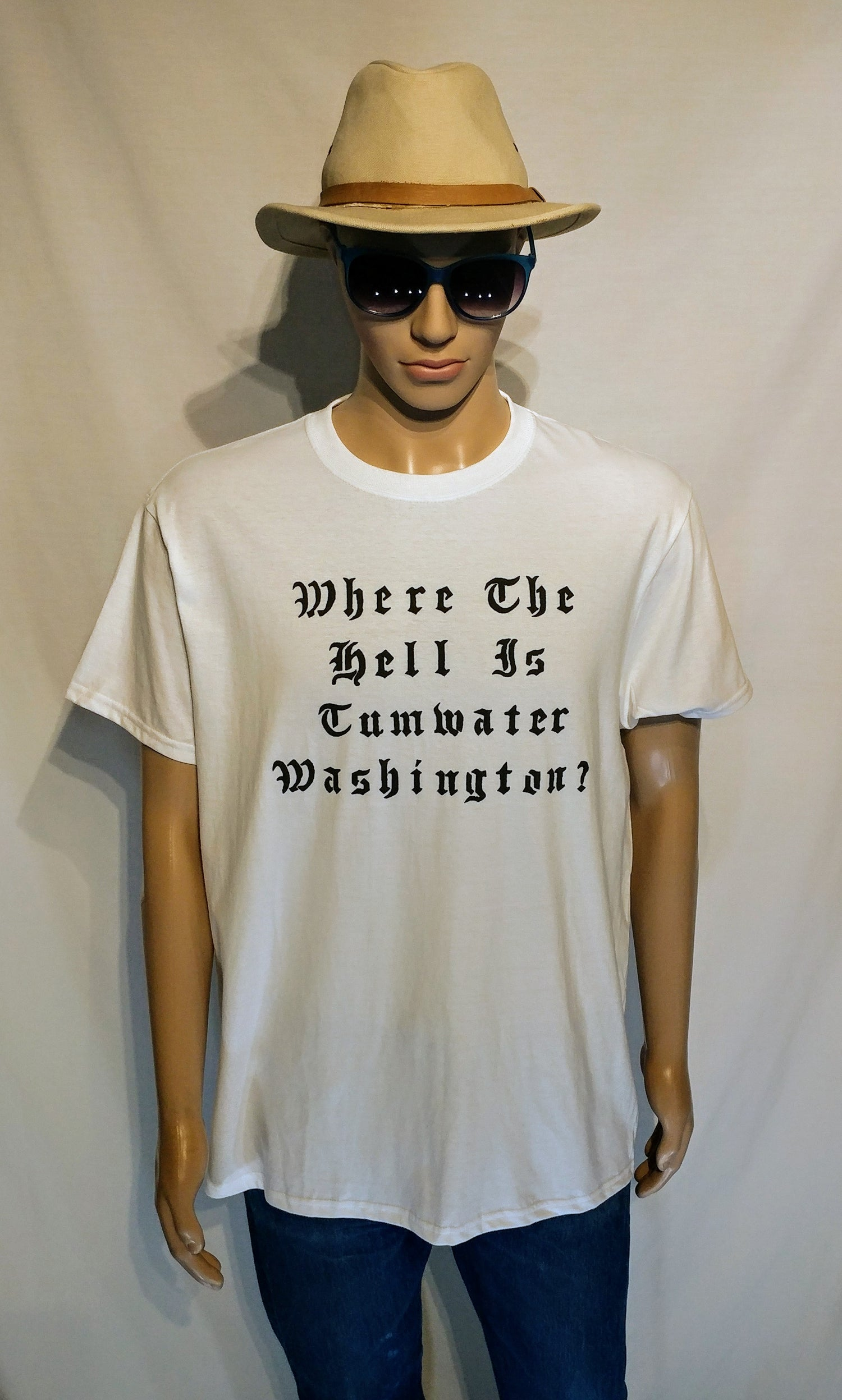 "Image of DIDACTIC - ""Where... Is Tumwater"" Tee's"