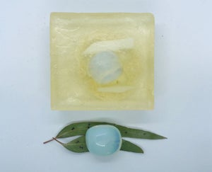 Opalite Soap with Loofah