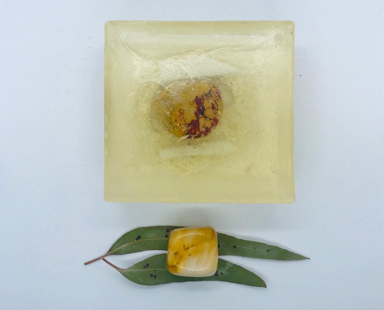 Mookaite Soap with Loofah